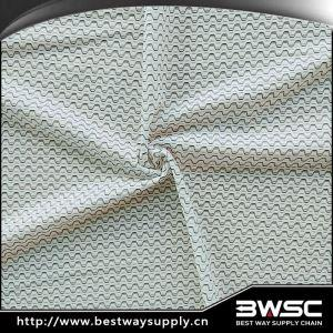 Quick Dry Polyester Spandex Warp Nylon Mesh Fabric For Cycling Wears
